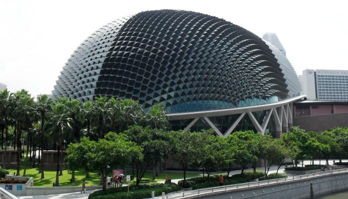 Esplanades - Theatres on the bay - Singapore - MERO Italiana