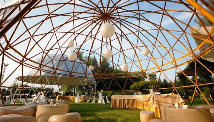 Cupole geodetiche - MERO Italiana