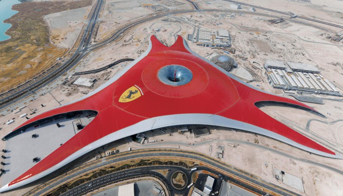 Ferrari World - Abu Dhabi - MERO Italiana