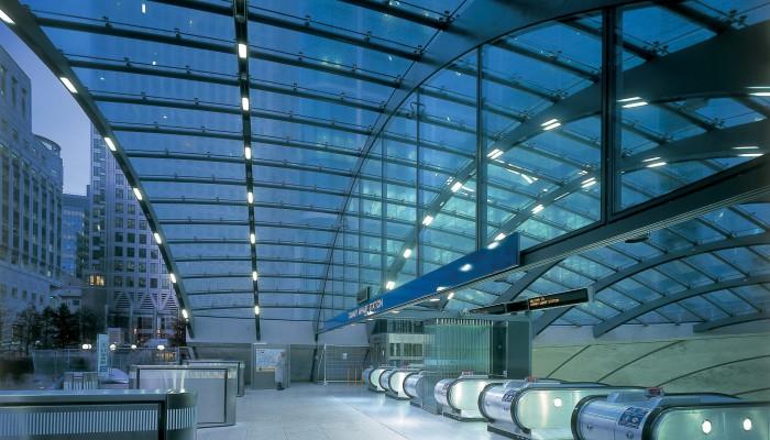 Ingresso stazione di Canary Wharf - Londra - MERO Italiana