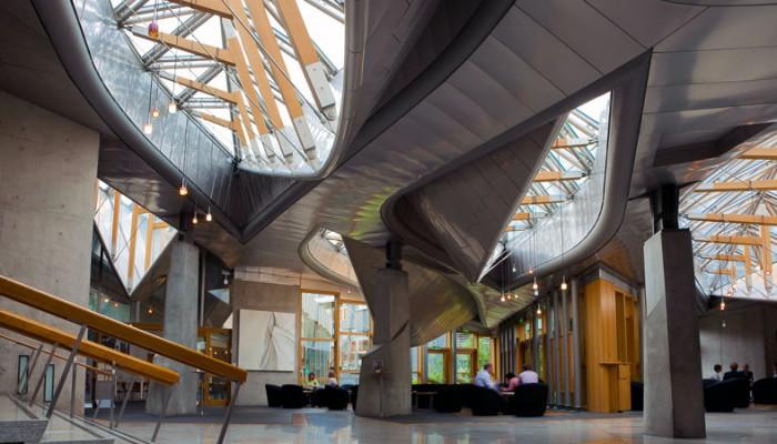 Parlamento scozzese ad Edimburgo - MERO Italiana